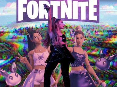 Fortnite anuncia concierto de Ariana Grande