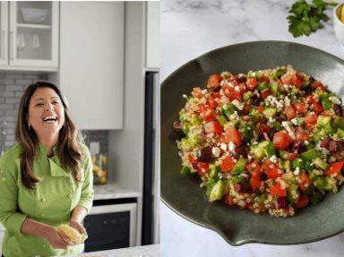 Ensalada de Quinoa Griega