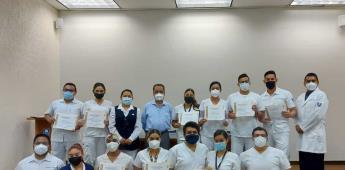 Egresaron pasantes de servicio social del   hospital general de Mexicali .