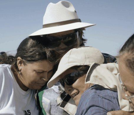 Ambulante estrena Te nombré en el silencio, un documental sobre Las Rastreadoras de El Fuerte