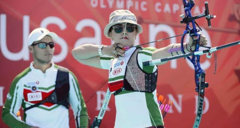 México conquista el campeonato mundial de tiro con arco.