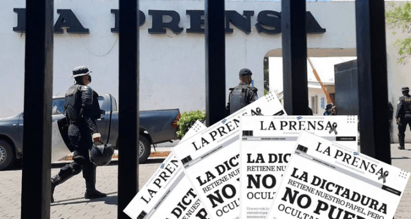 Gobierno de Daniel Ortega deja sin papel y saca de circulación al principal diario de Nicaragua