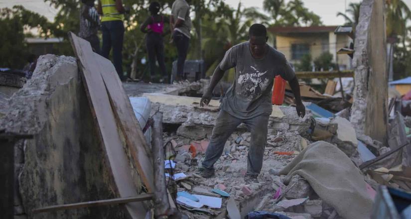 Autoridades de Haití confirman varios muertos tras terremoto