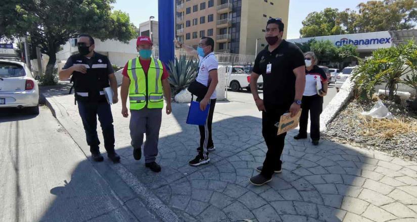 Realizan autoridades recorrido por la ruta del medio maratón internacional de Tijuana