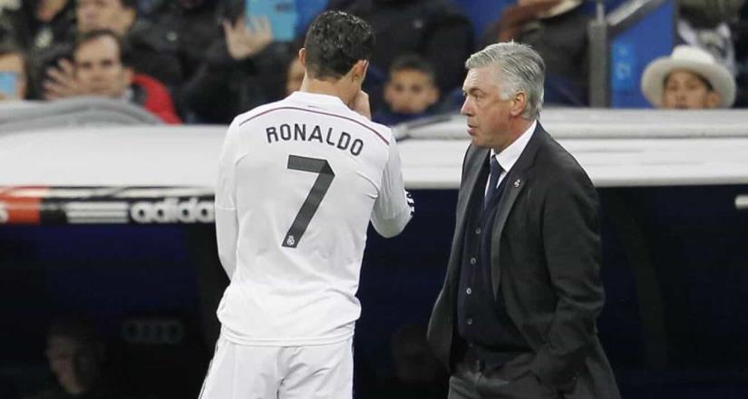 Ancelotti niega interés en Ronaldo y desmiente al Chiringuito