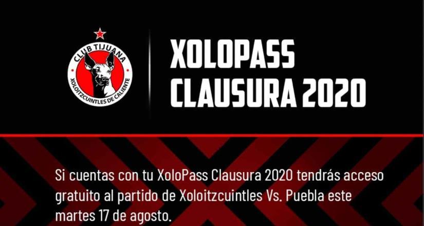 Acceso gratuito al público con Xolopass - Jornada 5 - Xolos VS Puebla