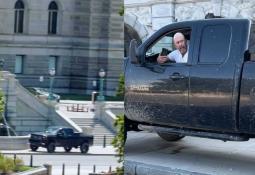 Hombre que amenazaba con explotar el Capitolio se entrega a las autoridades
