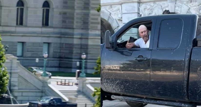 Policía del Capitolio responde a una amenaza de bomba en un vehículo