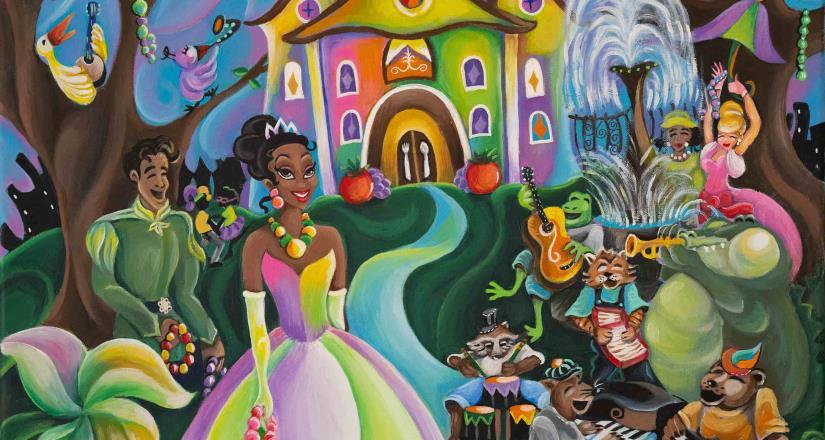 """Actualización sobre la próxima atracción de los parques de Disney basada en """"La princesa y el sapo"""