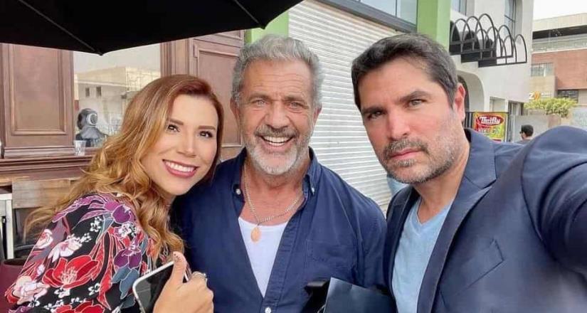 ¿Qué hacen juntos Mel Gibson y Eduardo Verástegui?