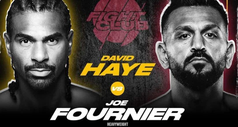 Joe Fournier se enfrentará a David Haye, en la misma jornada en que regresa Oscar de la Hoya