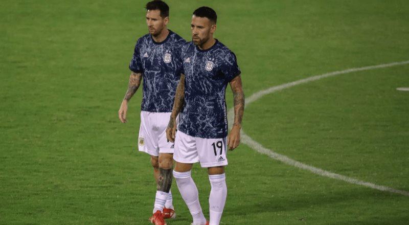 Lionel Messi sufre fuerte entrada ante Venezuela