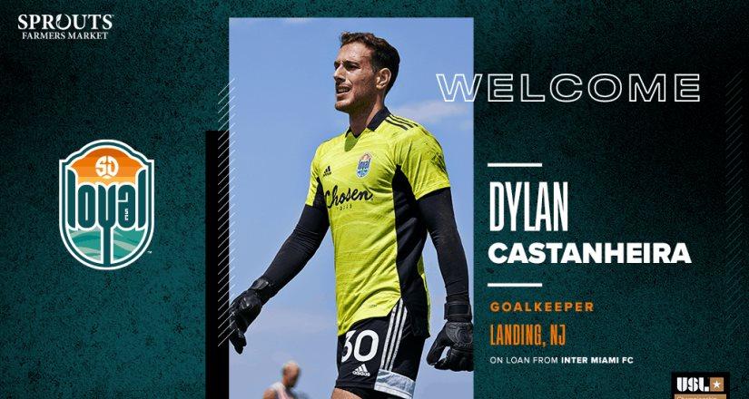 SD Loyal Fichó a Dylan Castanheira Quien Llega a Préstamo del Inter Miami CF de la MLS .