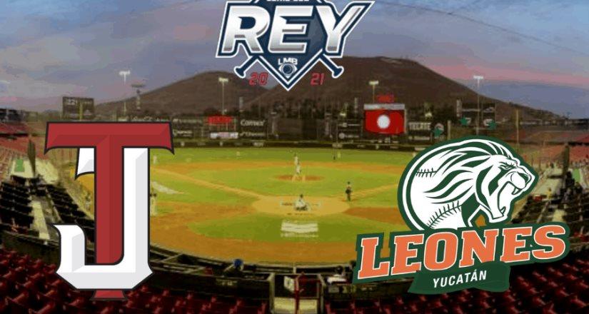 ¡Vive la Serie del Rey de la Liga Mexicana de Béisbol en TUDN!