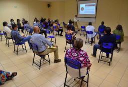 Imparte CEDHBC conferencia sobre derechos humanos a estudiantes de UABC