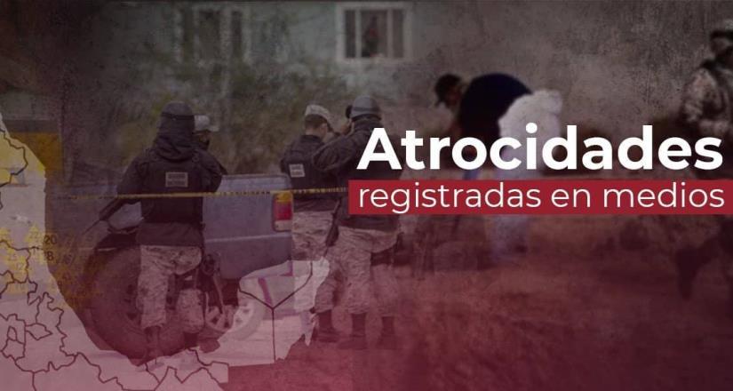 En agosto se registraron al menos 460 eventos que pueden catalogarse como atrocidades, con al menos 691 víctimas