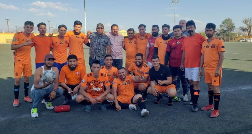 Alumbrado Público es campeón del Torneo de Futbol Burócratas