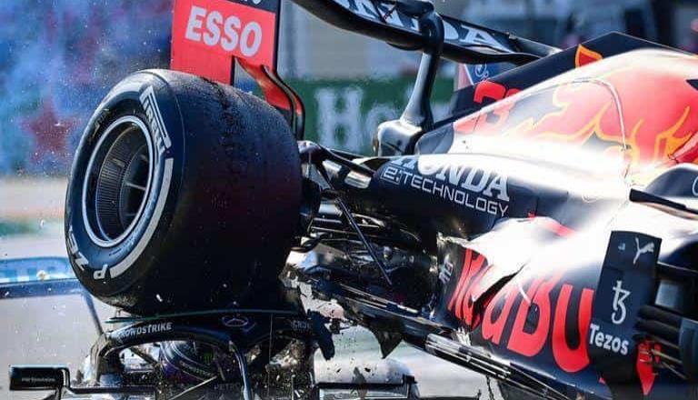 Impactante imagen del accidente en la F1