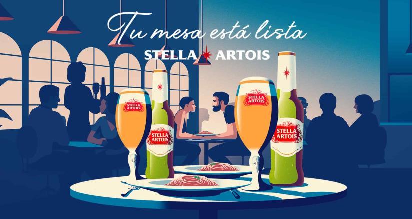 Tu mesa está lista: El sabor único de Stella Artois se convierte en el experto aliado  que eleva los momentos especiales alrededor de la mesa