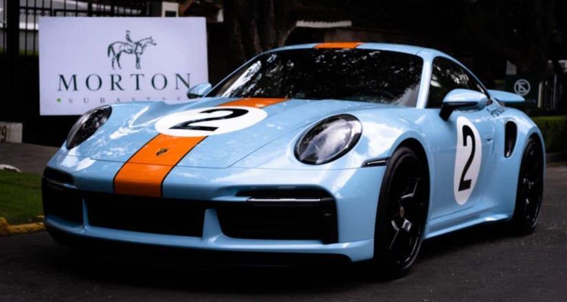 Sale a subasta Porsche único en el mundo, en homenaje a Pedro Rodríguez, histórico piloto mexicano