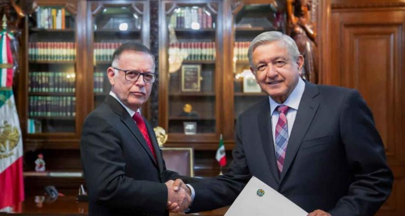 AMLO recibirá cartas credenciales de embajador de EU en México.