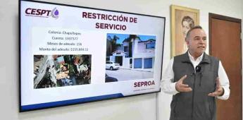 Exhorta a usuarios la Secretaría del Agua cumplir con el pago por el suministro del vital líquido