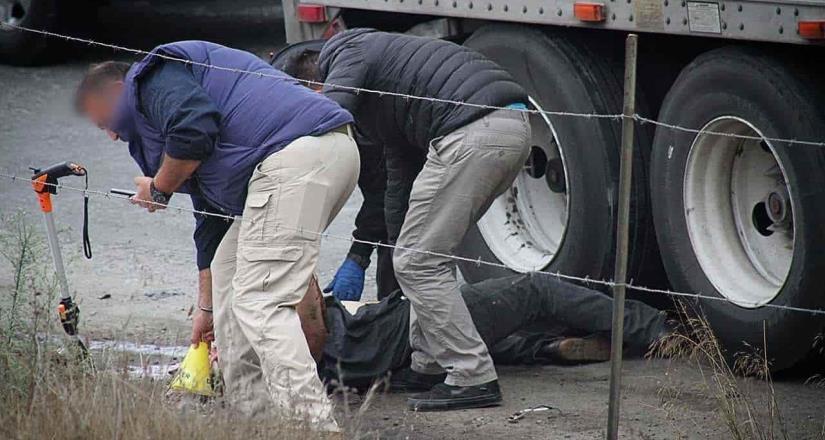 Muere un trailero en boulevard Pacifico