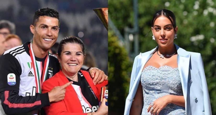 La madre de Cristiano Ronaldo sobre Georgina: Solo quiere su dinero.