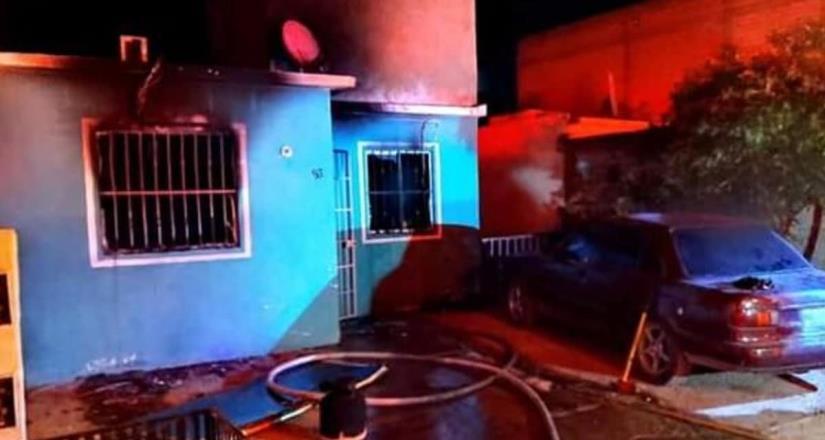 Hombre rocía gasolina y prende fuego a su esposa en Sinaloa; él muere