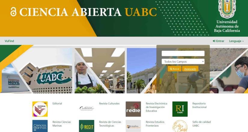 Ofrece UABC portal electrónico de Ciencia Abierta