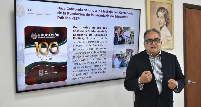 Suman más de 113 mil alumnos en clases presenciales en Baja California