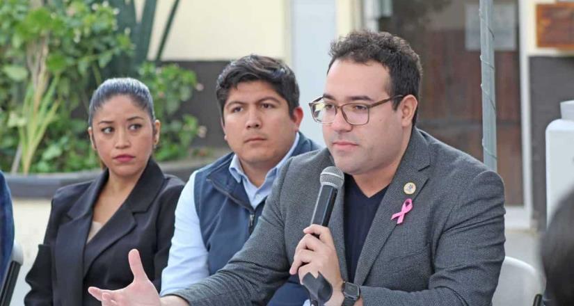 Presenta alcalde de Tecate Darío Benítez agenda del del orden
