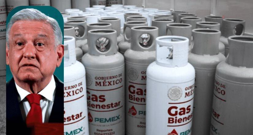 Se busca que Gas Bienestar tenga 51% del mercado: AMLO.