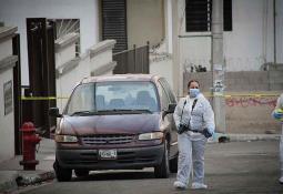 Se registró accidente en Rosas Magallón donde se volcó un vehículo
